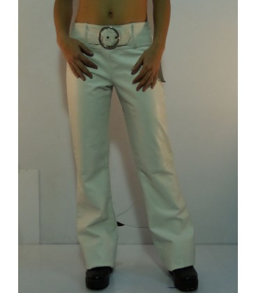 Cod.: WHITE PANT SHEEP LEATHER